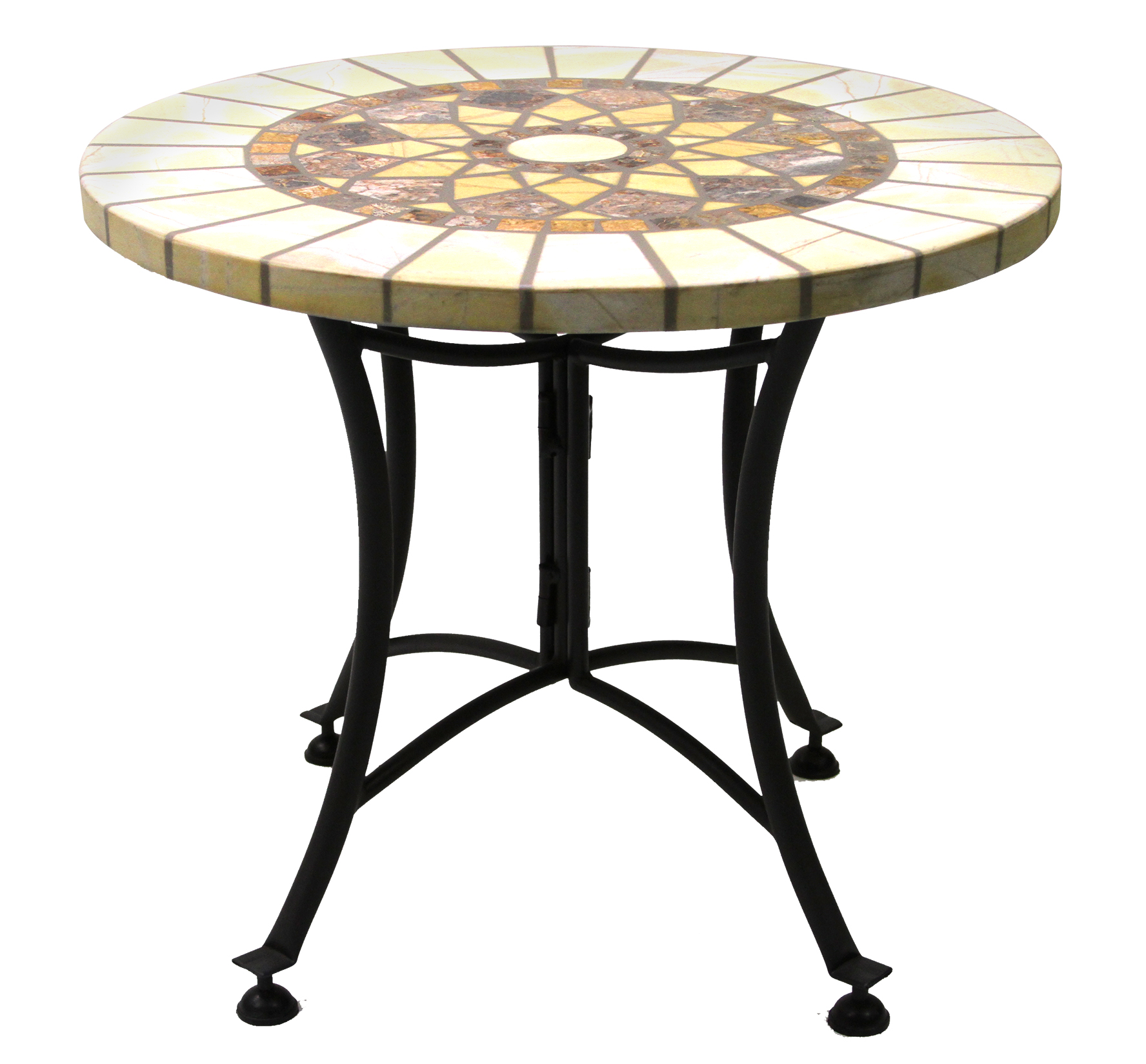 creative outdoor accent table with hampton bay mill valley beautiful honeycomb marble mosaic end metal base patio tables sofa drink crochet runner square wood target pier dishes