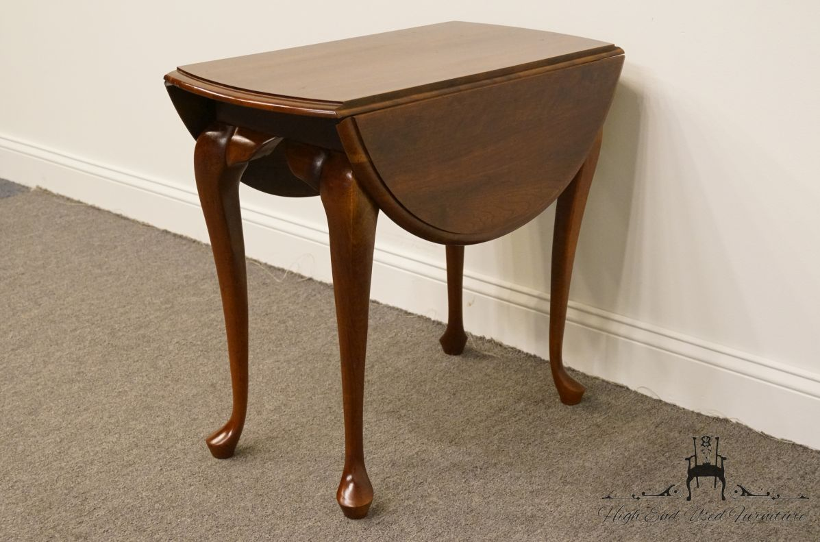 Cresent Furniture Solid Cherry Traditional Drop Leaf End ...