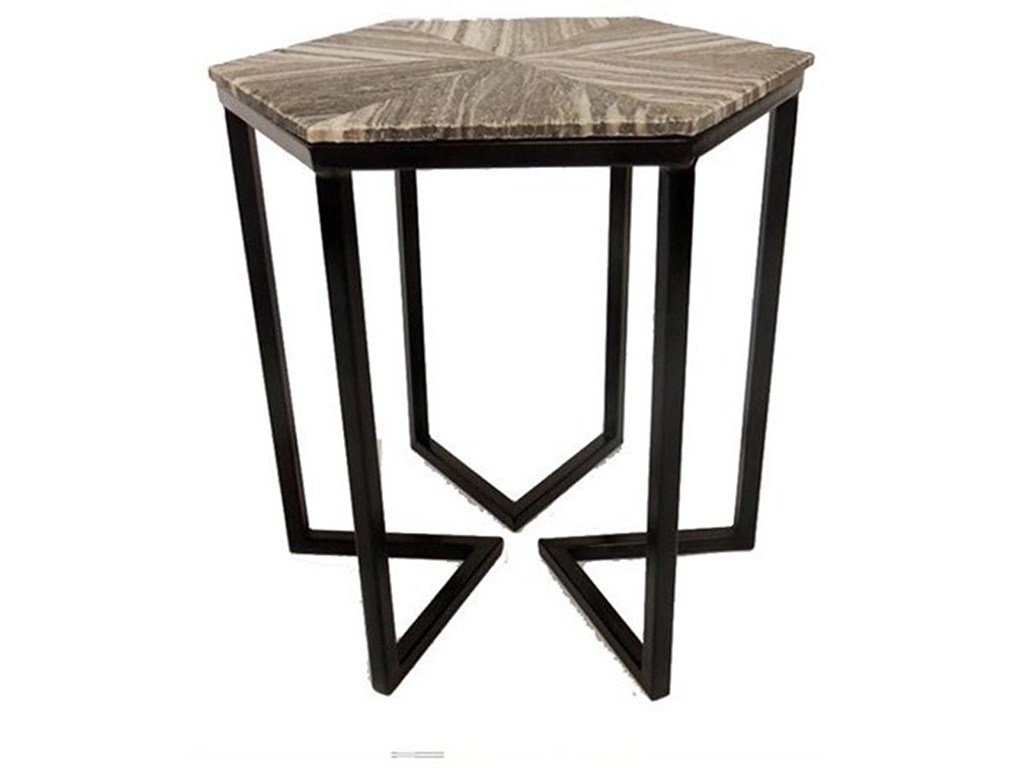 crestview collection accent furniture bengal manor shaped iron base products color kidney table furniturebengal hexagon sedona marble threshold monarch hall console ikea high