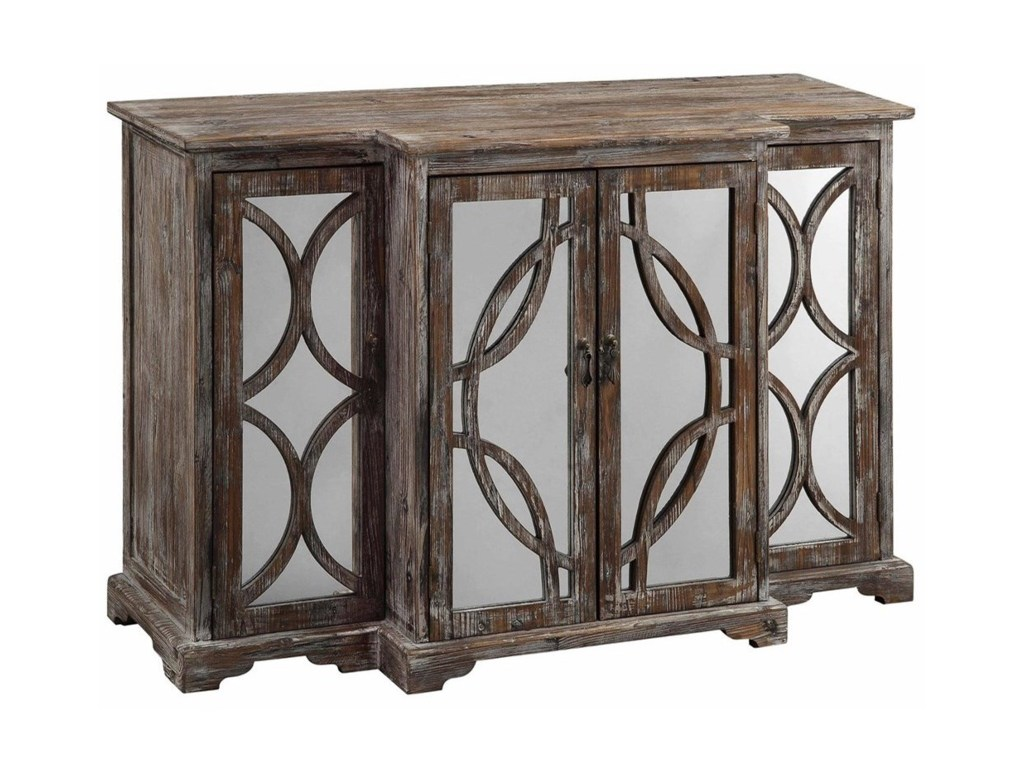 crestview collection accent furniture galloway door rustic wood products color gray table furnituregalloway and mirror sideb narrow small entry acrylic console ikea storage