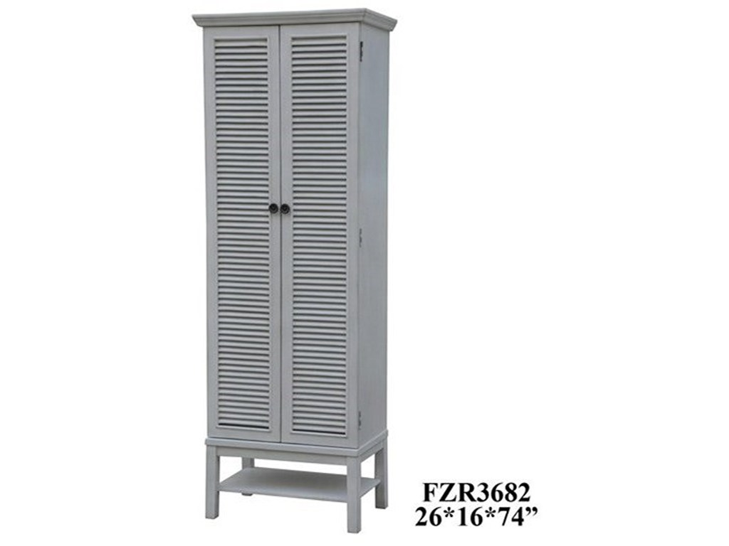 crestview collection accent furniture magnolia louvered door tall products color storage cabinet furnituretall miniature table lamps dining room sofa amish made end tables mirror