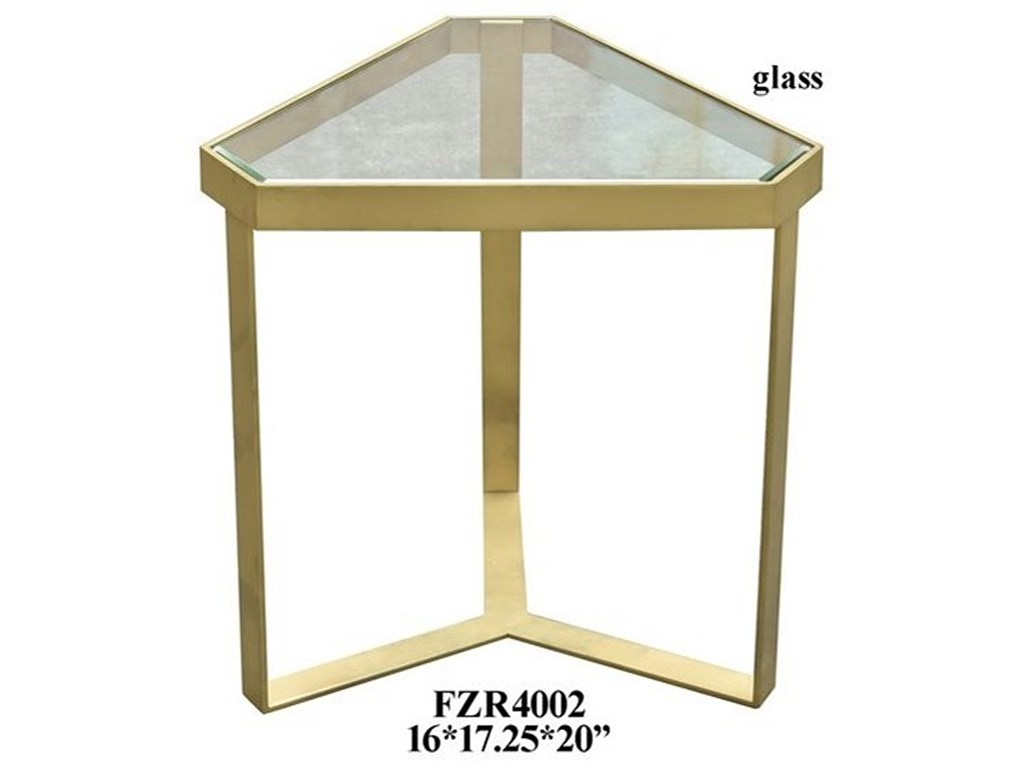 crestview collection accent furniture melrose gold triangle products color threshold table mango wood furnituregold tiffany glass lamps metal small storage cabinet with doors
