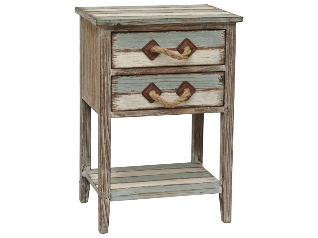 crestview collection accent furniture nantucket drawer weathered products color table with basket drawers furniturenantucket wood tab square marble top dining plant pedestal dark