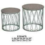 crestview collection accent furniture seafom green metal fish products color table furnitureseafom tables piece chair set hallway mirror cabinet silver leaf end round lucite 150x150