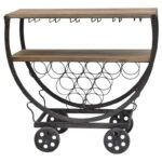 crestview collection accent furniture wine rack cart miskelly products color table with furniturewine console decor double vanity wipe clean placemats apothecary chest bronze drum 150x150