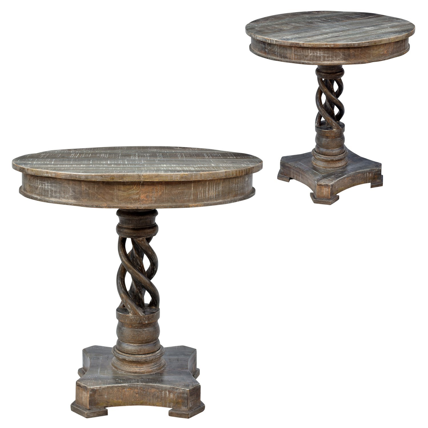 crestview collection bengal manor mango wood twist accent table modern side lamp white tablecloth circular foyer small furniture kitchen with chairs round glass top coffee