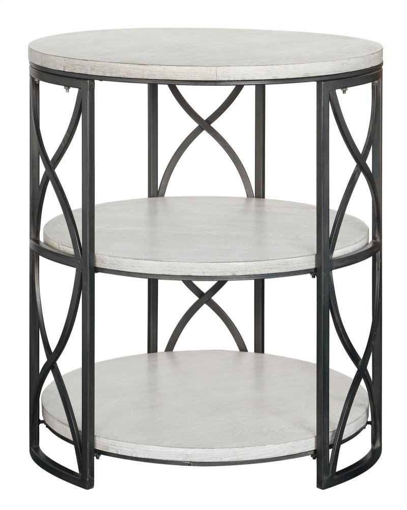 crestview collections jackson springfield frfbgkbdafmq tiered metal accent table grey and white wood inch round end marble tops ashley furniture wesling coffee razer ouroboros