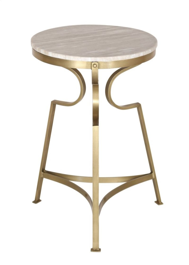 crestview collections shawnee bengal manor froajwshttoo antique brass accent table solid iron finish marble top hidden side with charging station white and gold lamp knotty pine