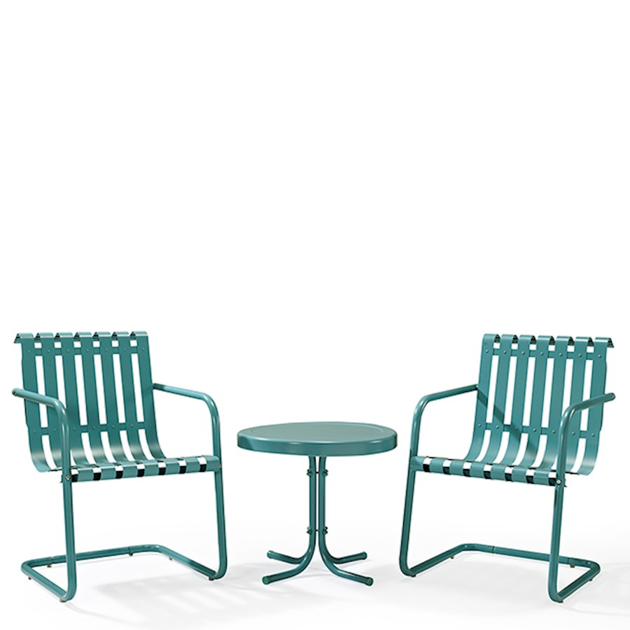 crosley gracie metal outdoor set chairs and side table blue loading coffee dimensions glass display cabinet purple furniture patio end clearance rattan drum piece dining antique