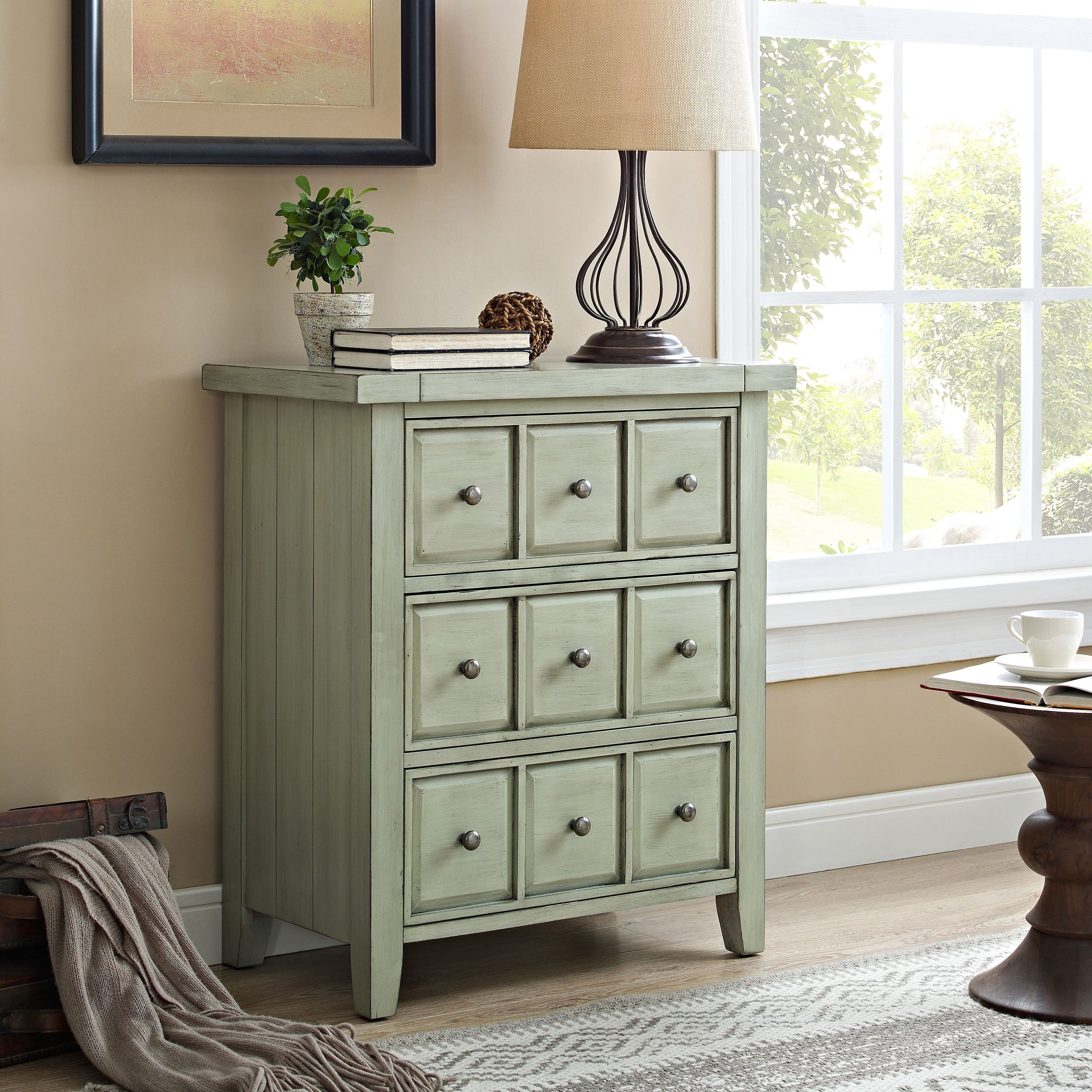 crosley sienna sage accent chest green products tables balcony table and chairs small foyer mercers furniture inch wide sofa marble top stein world shelby home decor ping dale
