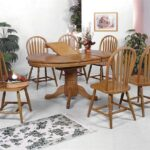 crown mark windsor solid piece oval dining table and side chairs products color oak leg top accent pieces slim glass patio furniture sets stained light target shoe storage pottery 150x150