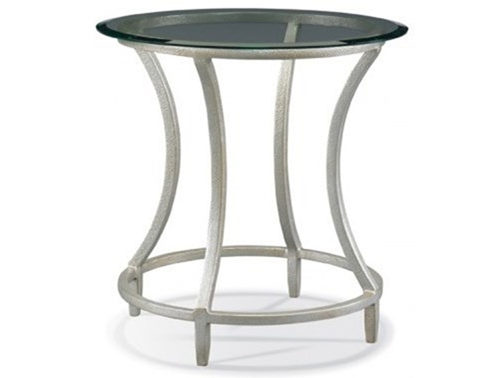 cth sherrill occasional masterpiece stippled platinum round side products color threshold accent table platinumside the bay furniture bar height legs target nate berkus rug glass