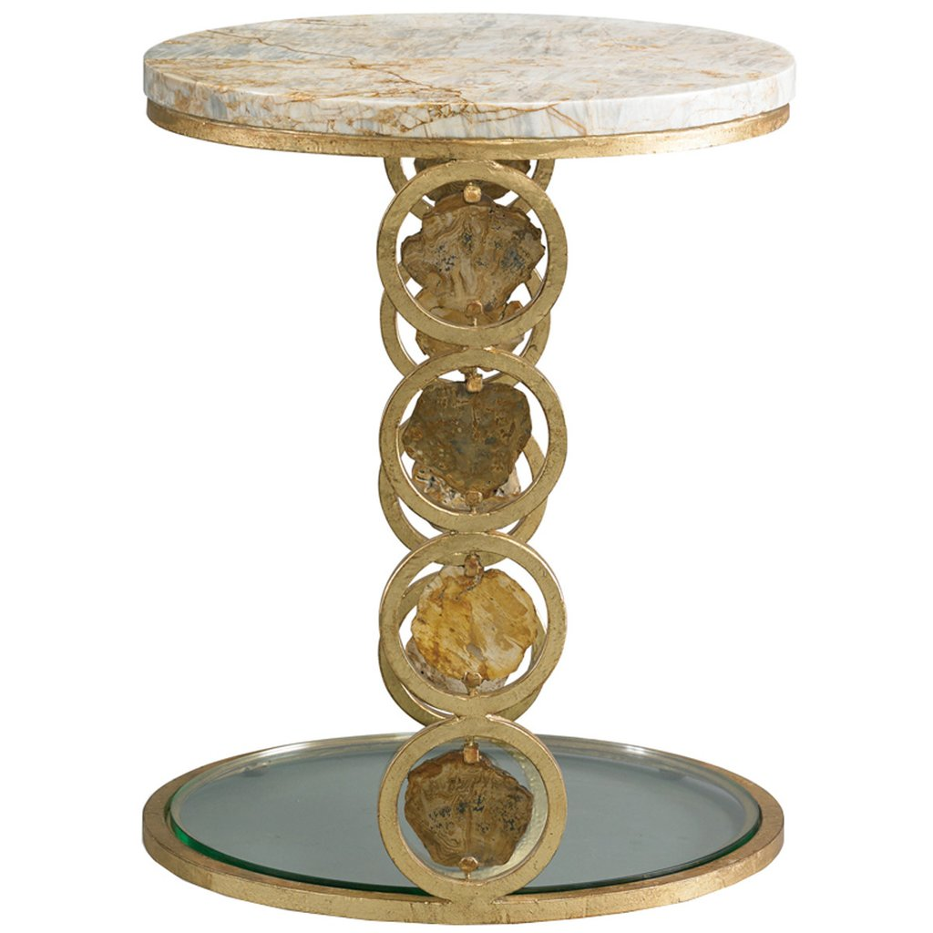 cth sherrill occasional petrified wood accent table tables extra large tablecloths coffee with gold accents small round glass dining best designs step side furniture tulsa mudroom