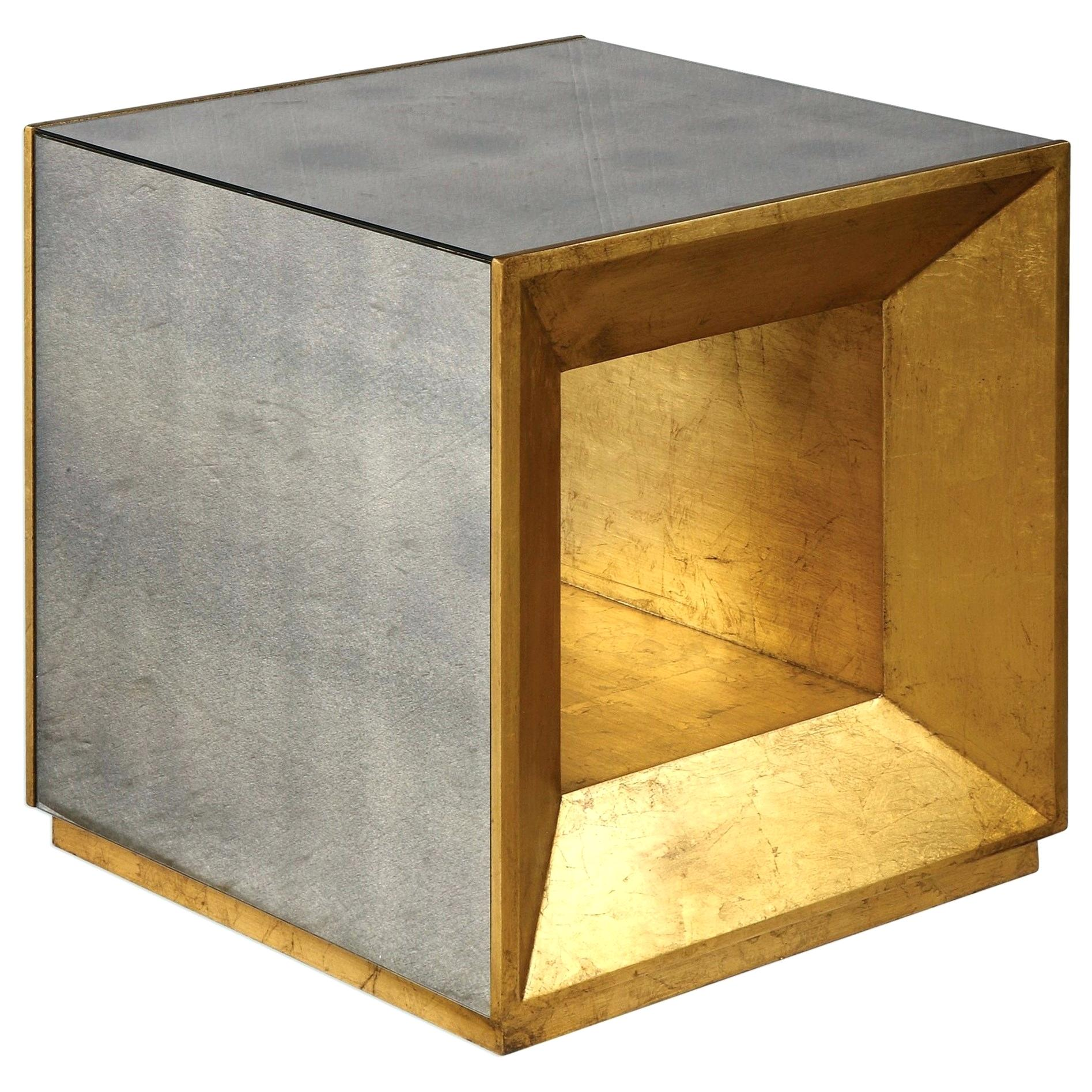 cube accent tables modern glass top end table uttermost furniture flair gold with cherry mission hardwood floor tile reclaimed wood tablecloth for dining porch side mid century