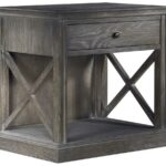 curations limited french casement weathered gray oak accent table dark wood console with storage large outdoor wall clock universal furniture broadmoore windham threshold coffee 150x150