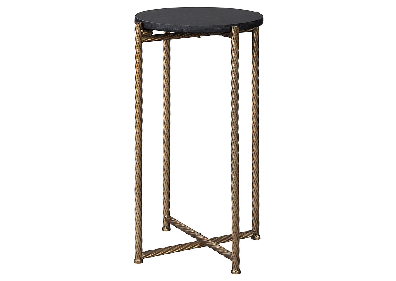 curly furniture brycewood black gold finish accent table signature design ashley entrance wall iron and glass woven outdoor small half circle modern coffee tables edmonton wrought