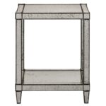 currey monarch accent table painted silver viejo light metal antique mirror glass bedroom side lamps buffet ikea small for patio oval garden pottery barn childrens living room 150x150