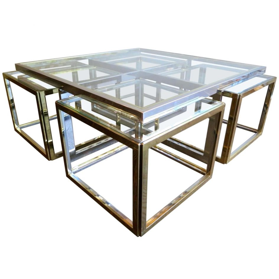 curved glass coffee table small round long with storage dark wood rectangular accent tables ikea childrens cubes dining room height sofa side end charging station black and silver