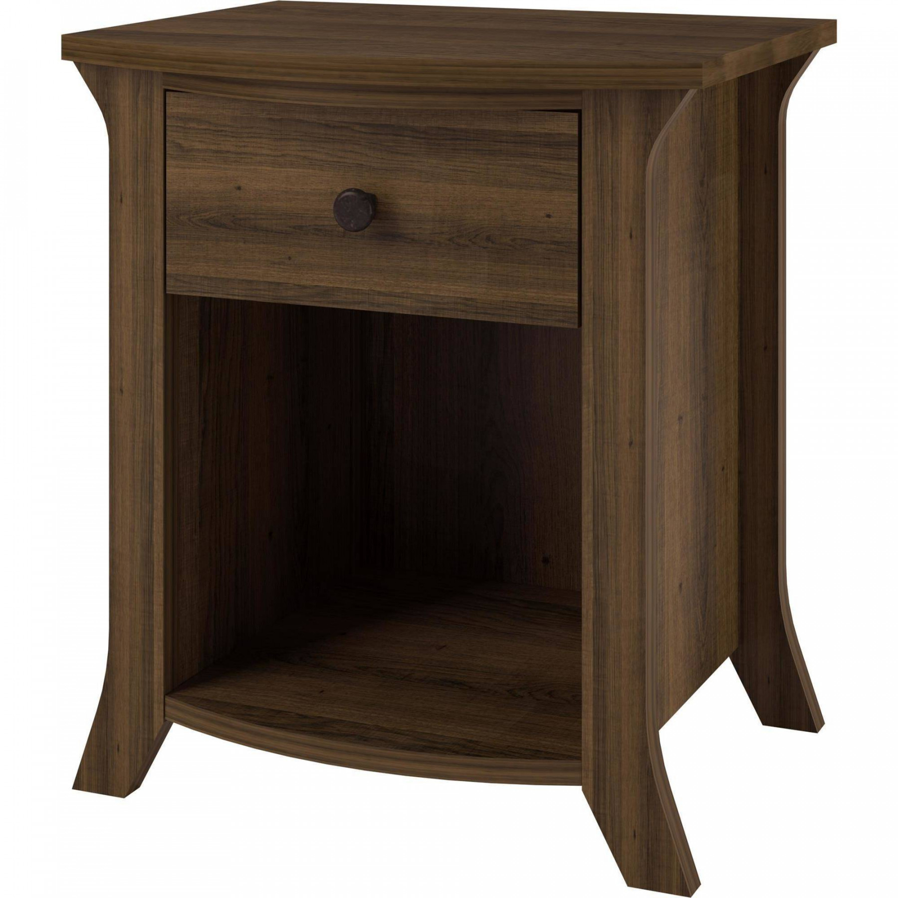 curved nightstand end table home design and decorating ideas incredible charming interior winsome wood night stand with drawer shelf stressless recliners black metal glass coffee
