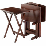 curved rectangle tables walnut set tray metal eyelet accent table marble top end with drawers brown coffee patio beer cooler drum kit stool kitchen dining room nesting average 150x150