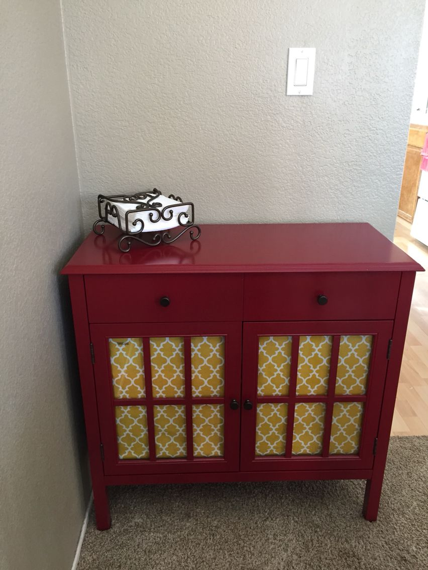 cute accent cabinet with drawer from target red table west elm industrial storage desk pineapple umbrella floor lamps nautical lamp base extension dale tiffany butterfly reclaimed