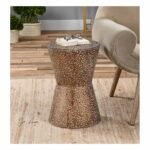 cutler drum shaped accent table fratantoni lifestyles tables edmonton bathroom runner round dining room and chairs cabinet door knobs nate berkus bath rug nesting bedside bar top 150x150