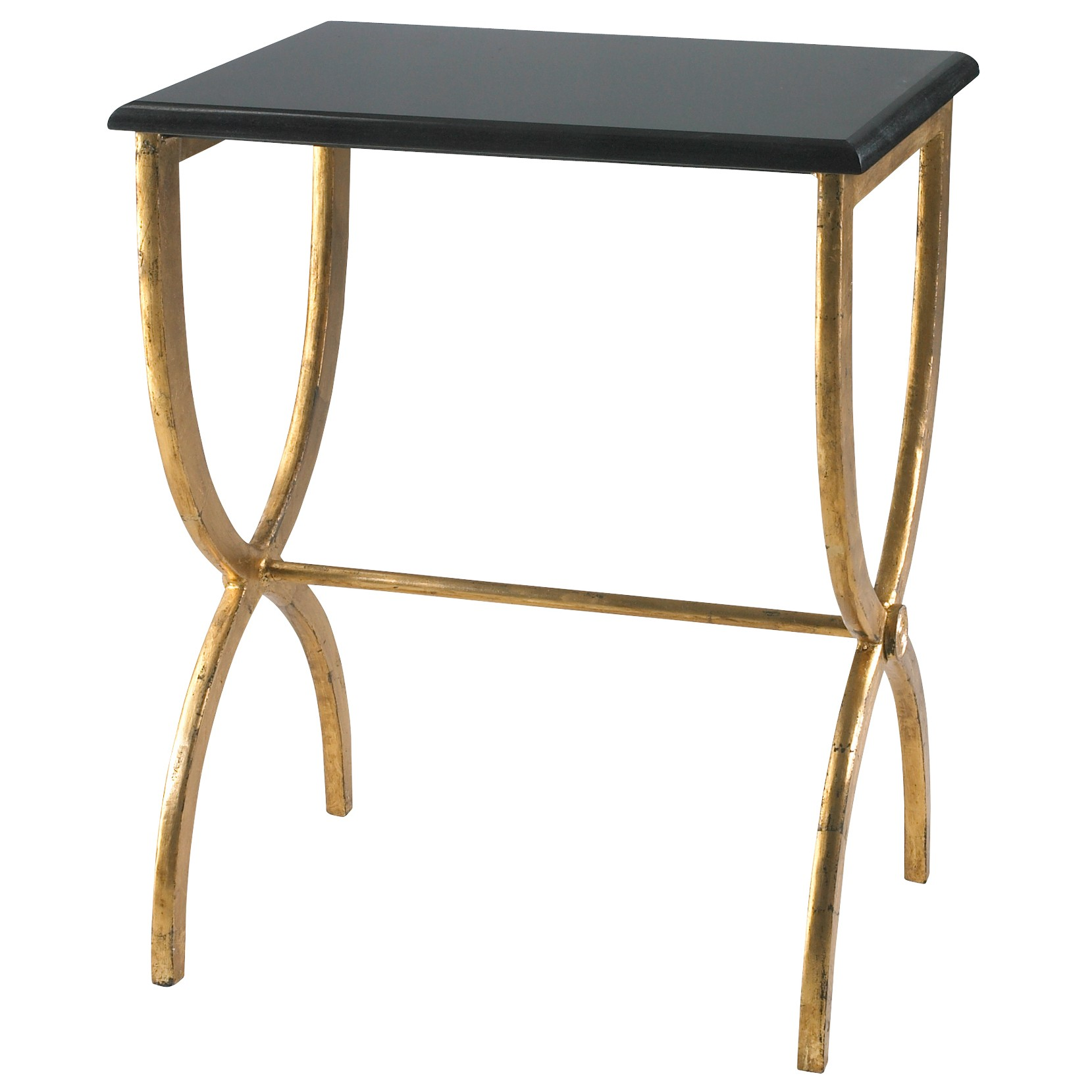 cyan black with gold legs accent table candelabra inc pier one imports dining room sets acrylic snack mcm side steel trestle outdoor coffee umbrella hole house designs winsome
