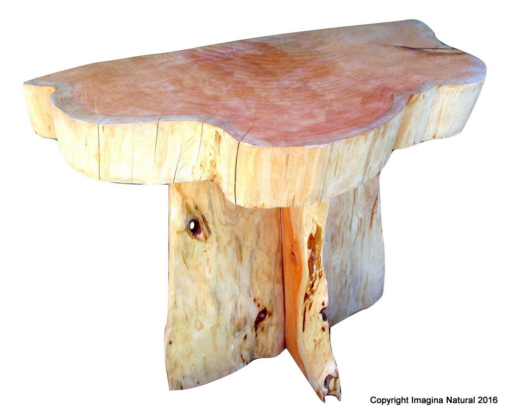 cypress handmade tree slab wall accent table rustic log img burned wood tabl imagina natural target white lamp chinese bedside lamps outdoor pillows living room tables home