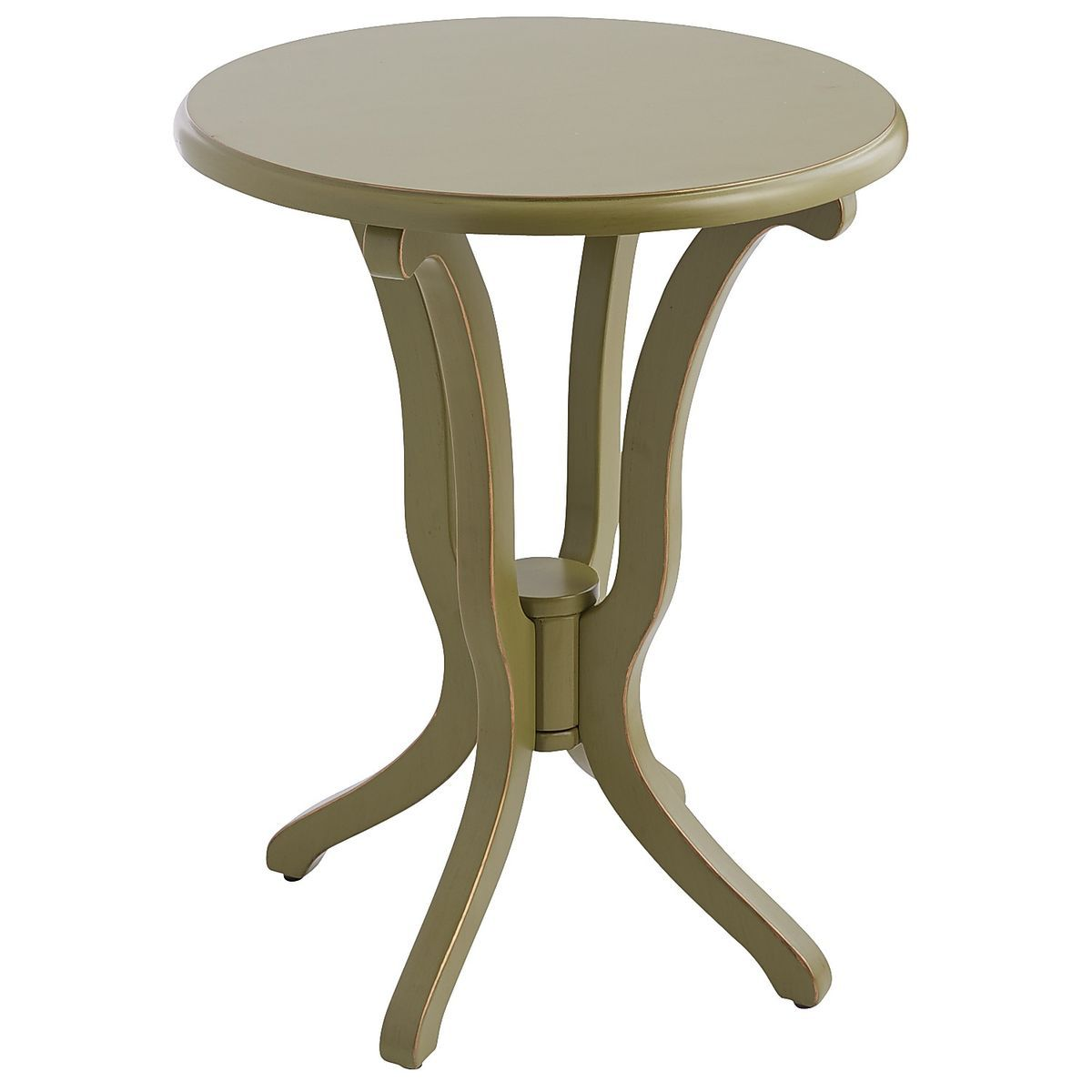 daffodil accent table moss green pier imports new townhouse tables home ornaments glass top side one floor lamps white half moon circular west elm coupon code modern kitchen