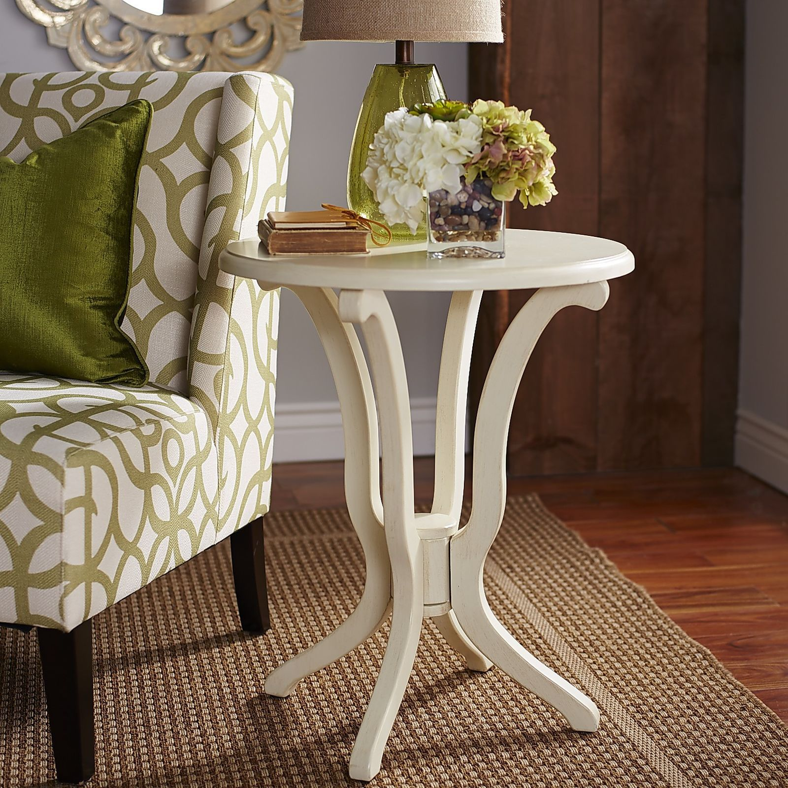 daffodil antique white accent table daffodils room and living rooms console lamps rustic battery for home bar height patio design ideas pier one shower curtains target threshold