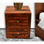 daintree sheesham wood draw veeto natural teak finish side end other accent table timbertaste corner door threshold trim half round small floor cabinet dale tiffany butterfly lamp 150x150