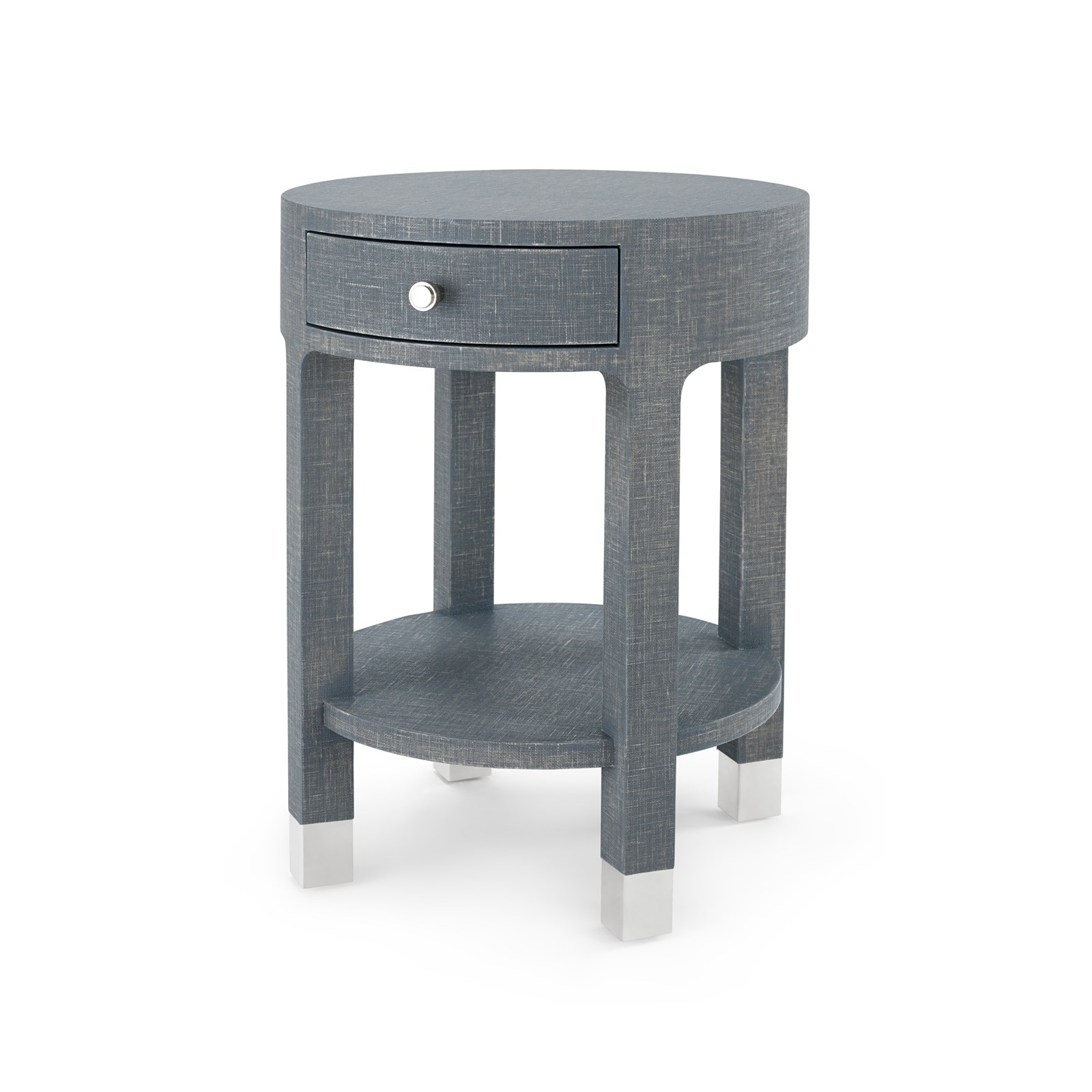 dakota drawer round side table gray bungalow inside the stylish addition beautiful black nightstand for really encourage metal glynn accent outdoor bistro glass dining and chairs