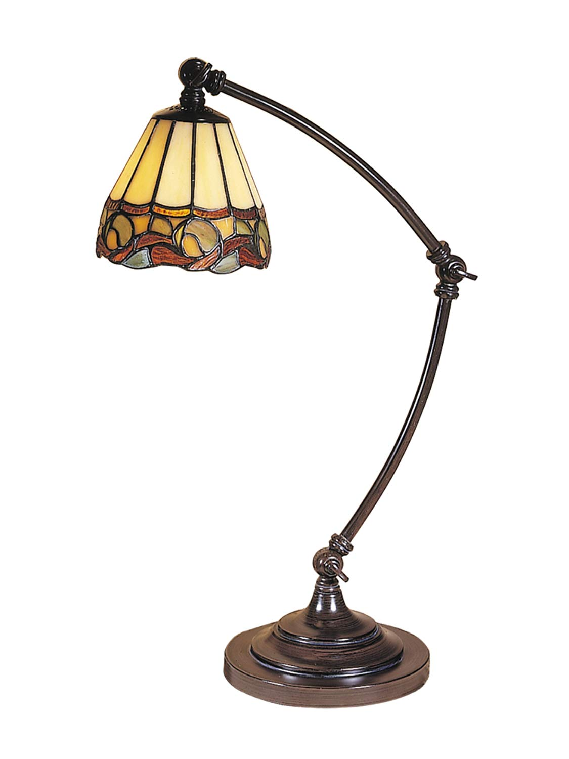 dale tiffany ainsley desk lamp mica accent table lamps bronze unique home decor rustic patio furniture handmade runner pottery barn headboard round occasional tables with drawers
