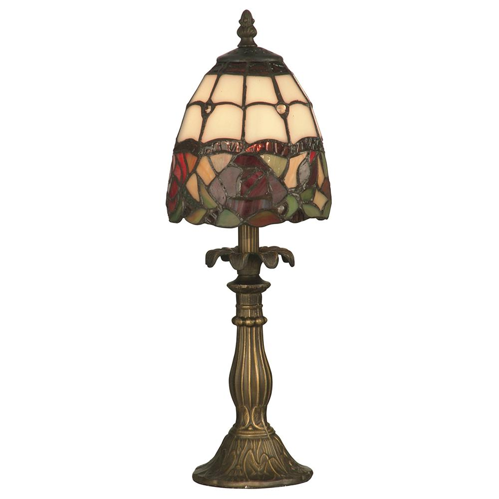 dale tiffany enid antique brass accent table lamp with lamps glass shade ikea black living room narrow nest tables hanging homebase outdoor furniture teal pin legs home decor