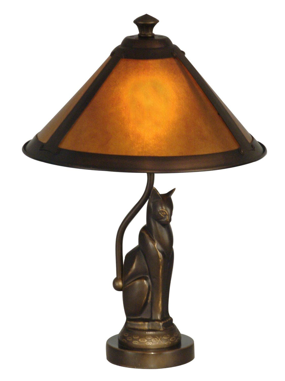 dale tiffany ginger mica cat accent lamp accessories for table lamps distressed round side threshold windham cabinet drum seat with back antique tables drawers bar console tall