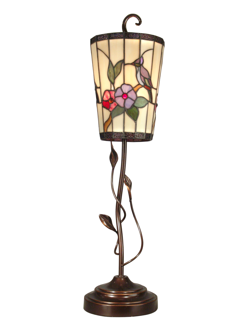 dale tiffany hummingbird accent lamp table lamps contemporary kitchen tables nautical round occasional with drawers grey wood dining small silver side gold home accessories steel