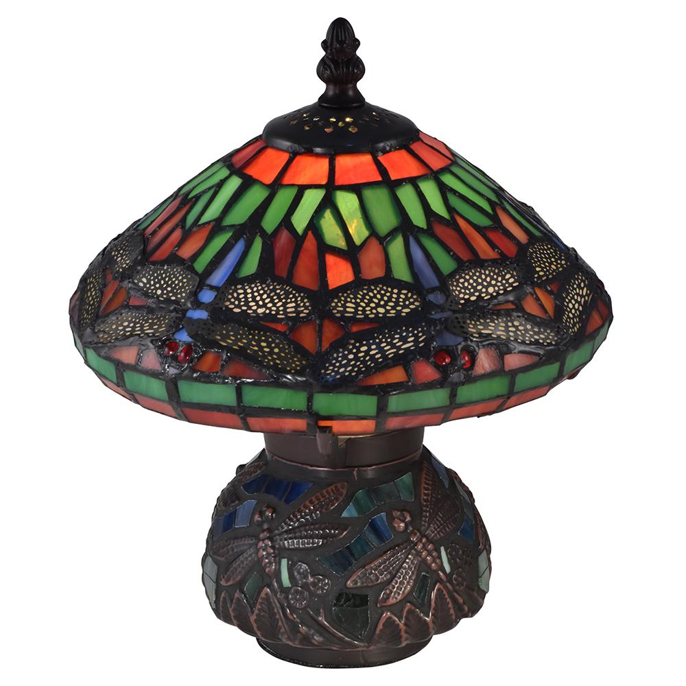dale tiffany red dragonfly antique bronze accent lamp table lamps game chairs contemporary kitchen tables side designs pottery barn headboard grey wood dining sheesham and gold