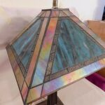 dale tiffany table lamp bronze base turquoise slag iridescent accent lamps next unique home decor modern teak outdoor furniture bathroom ideas side designs shelf behind couch 150x150