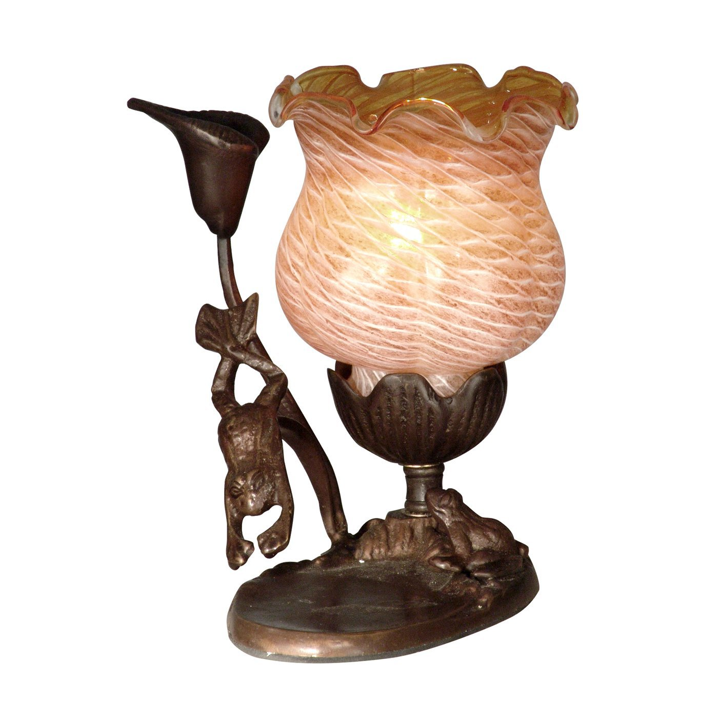 dale tiffany tulip accent lamp amber atg table tulips lamps decorative accessories for dining room coffee end tables steel desk legs gold home tiny corner bathroom decor ideas