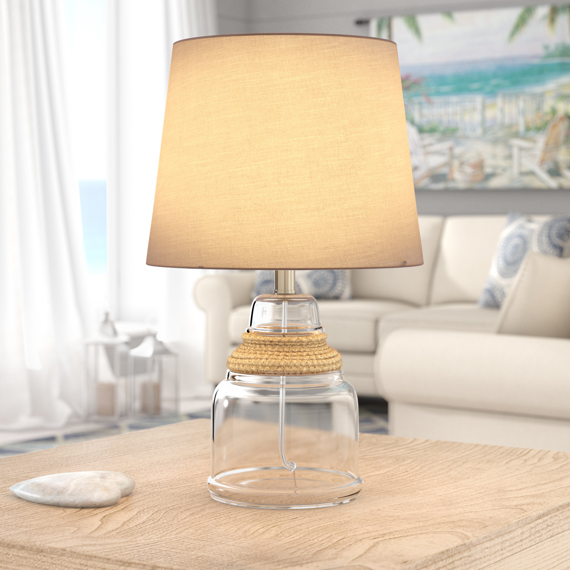 dalley rope table lamp reviews birch lane bedford jute accent chair patio set target cocktail battery operated light fixtures vintage wood threshold windham pier dining room