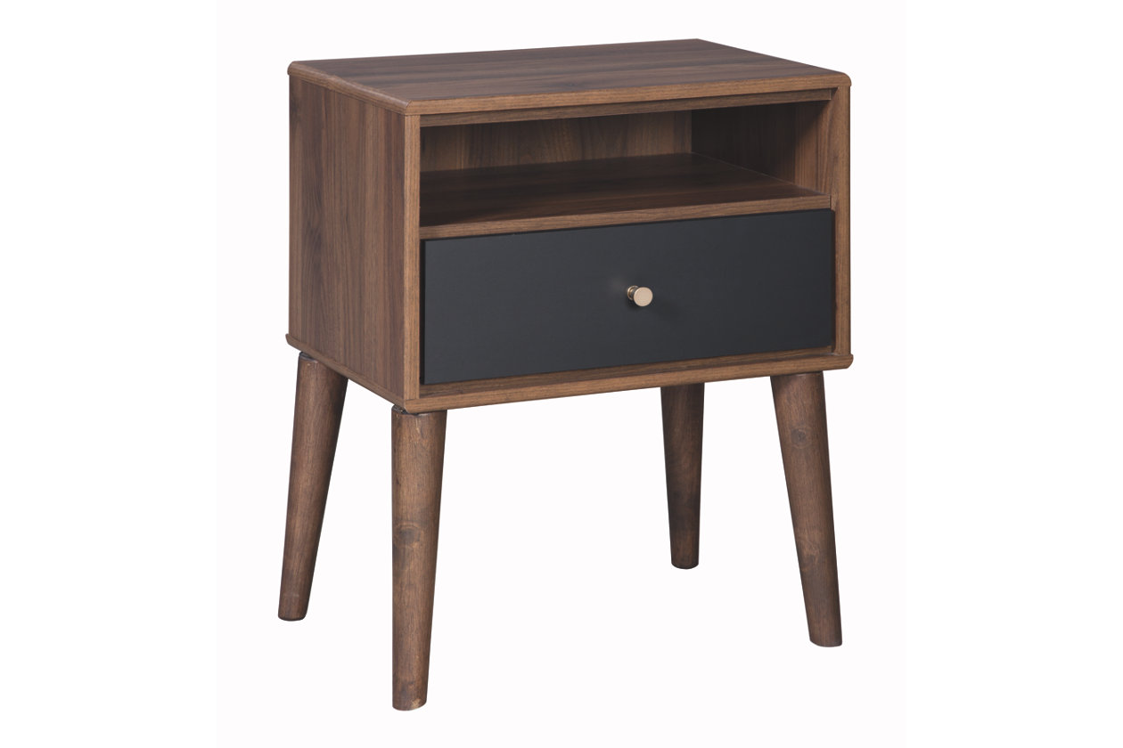 daneston nightstand ashley furniture home wood accent table five below long couch teak outdoor end tables and coffee support leg elastic covers green metal mid century lamp living