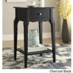 daniella drawer wood storage accent end table inspire bold tachuri target midnight black white coffee short console inch wide nightstand contemporary pendant lights light accents 150x150