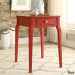 daniella drawer wood storage accent side table inspire red gold metal round coffee wine glass cabinet white cloth tablecloths battery operated bedroom lights kohls bedspreads and 150x150