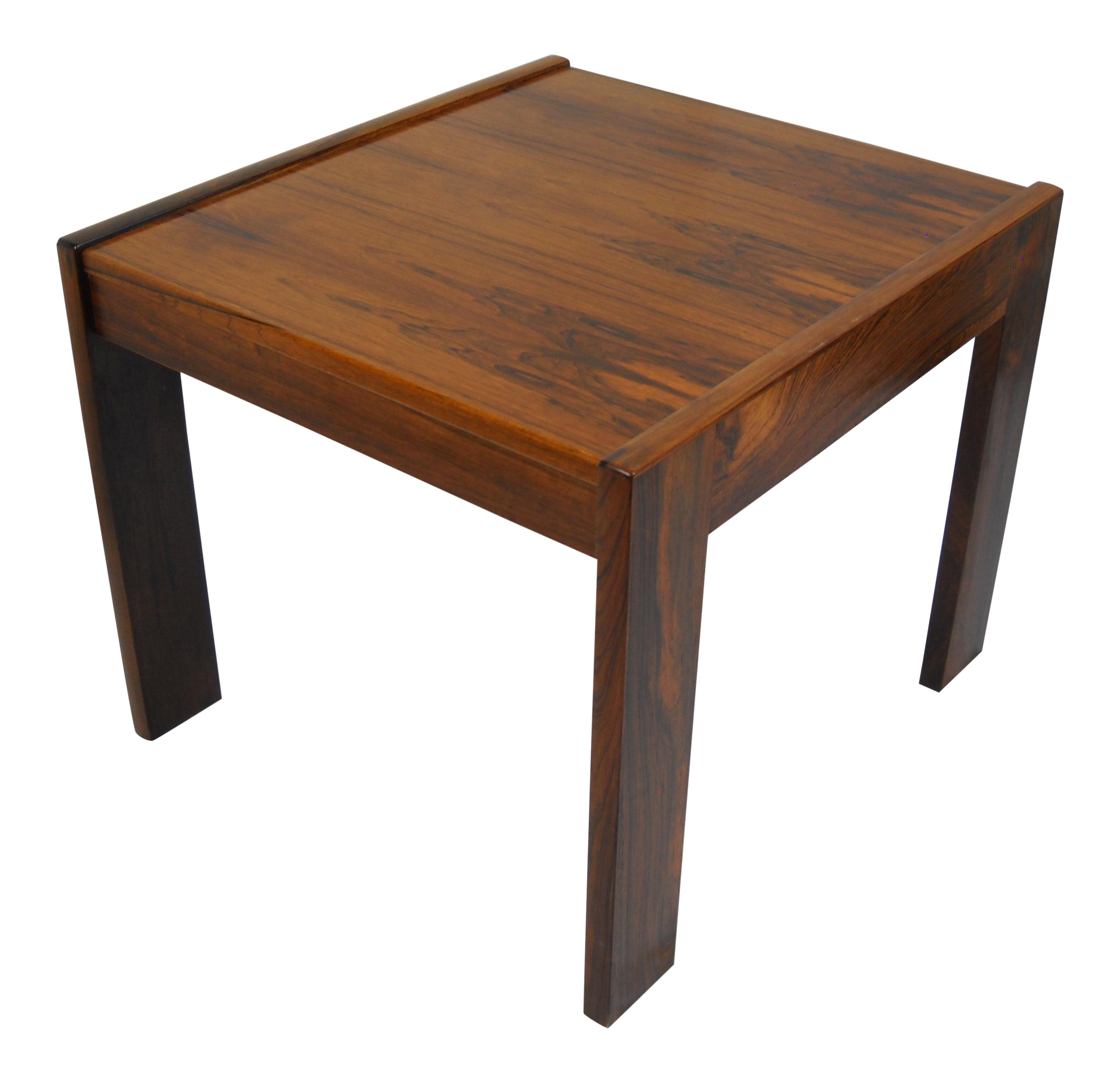 danish modern rosewood side table chairish accent acrylic with shelf huge outdoor umbrella patio furniture toronto target coffee clearance sets end mirror counter height sofa