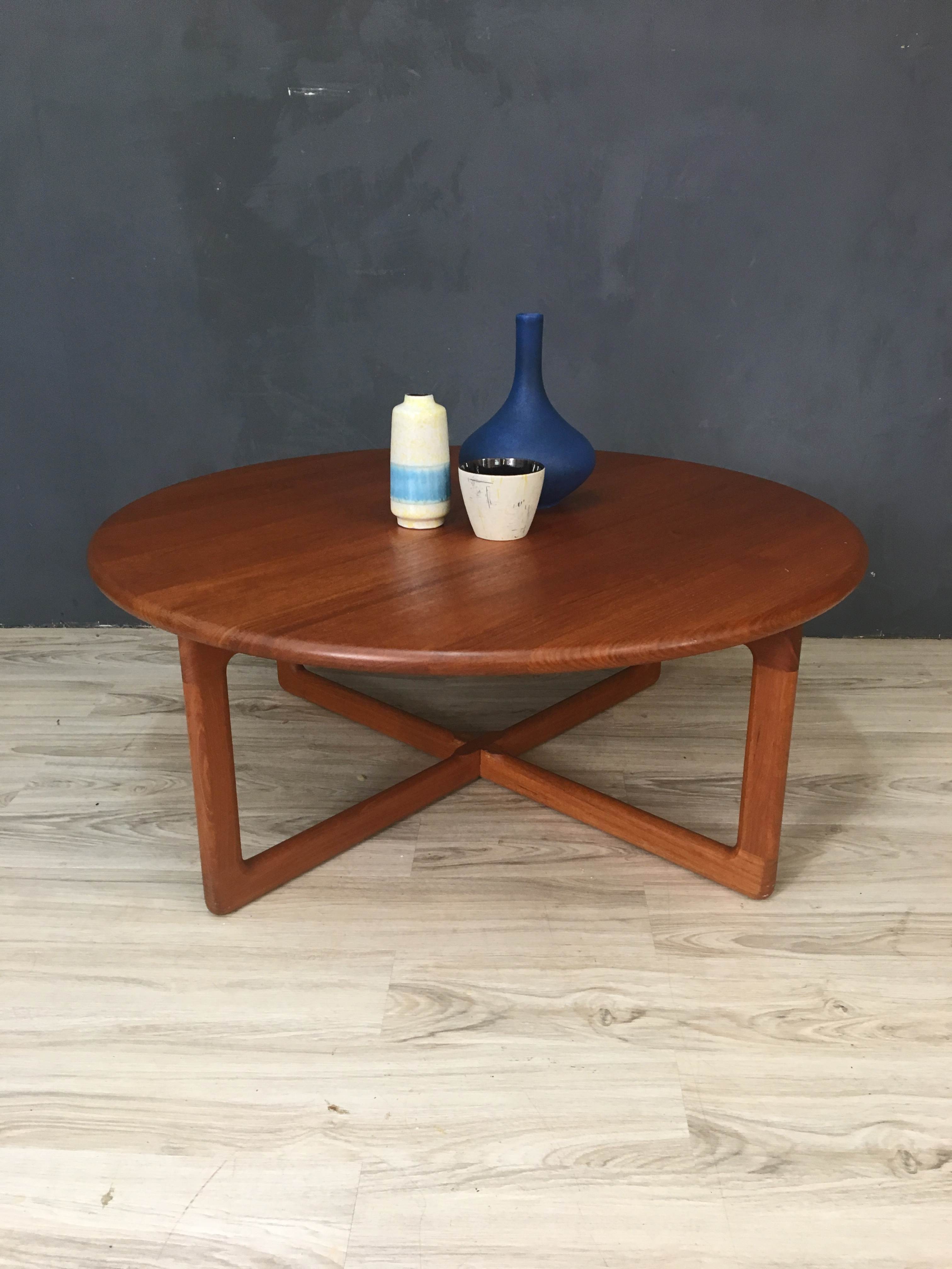 danishmodern round teak coffee table retrocraft design accent danish modern vanity unit with basin threshold wood and metal gold glass dale tiffany desk lamp meyda white