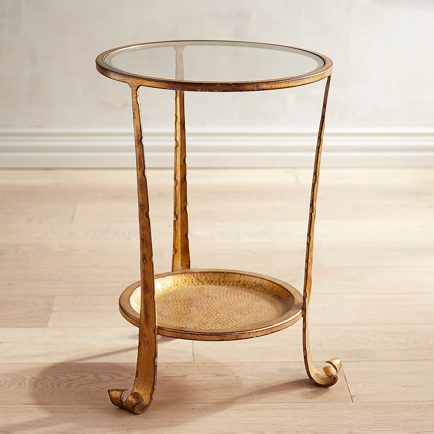 dansby gold end table pier imports hammered accent bunnings garden furniture contemporary dining chairs outdoor beverage small lamp patio tile with umbrella hole ikea plastic