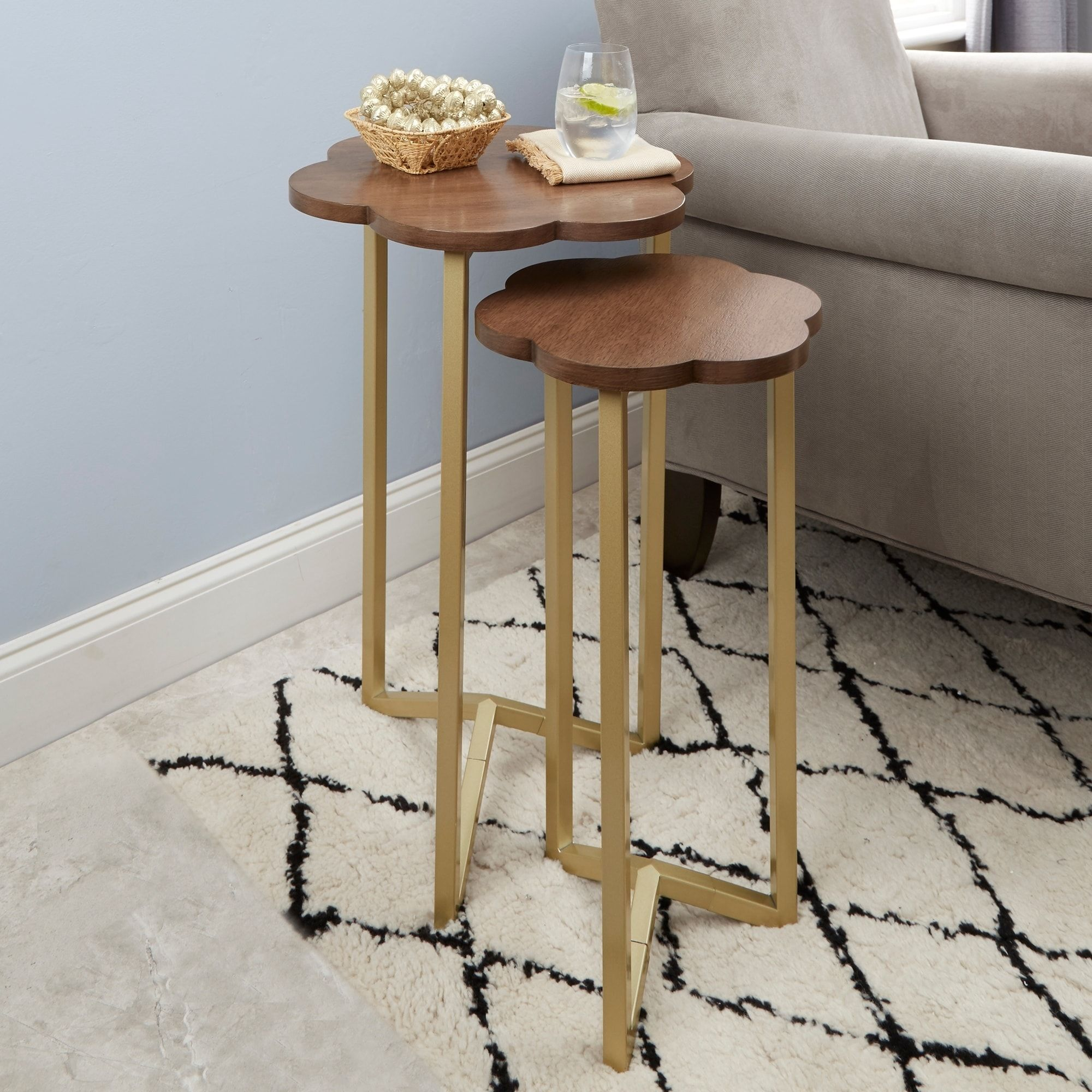 daphne nesting accent tables gold house dreams table plans pine sideboard paper lamp shades farmhouse dining room furniture hampton bay outdoor chairs target glass coffee drum kit