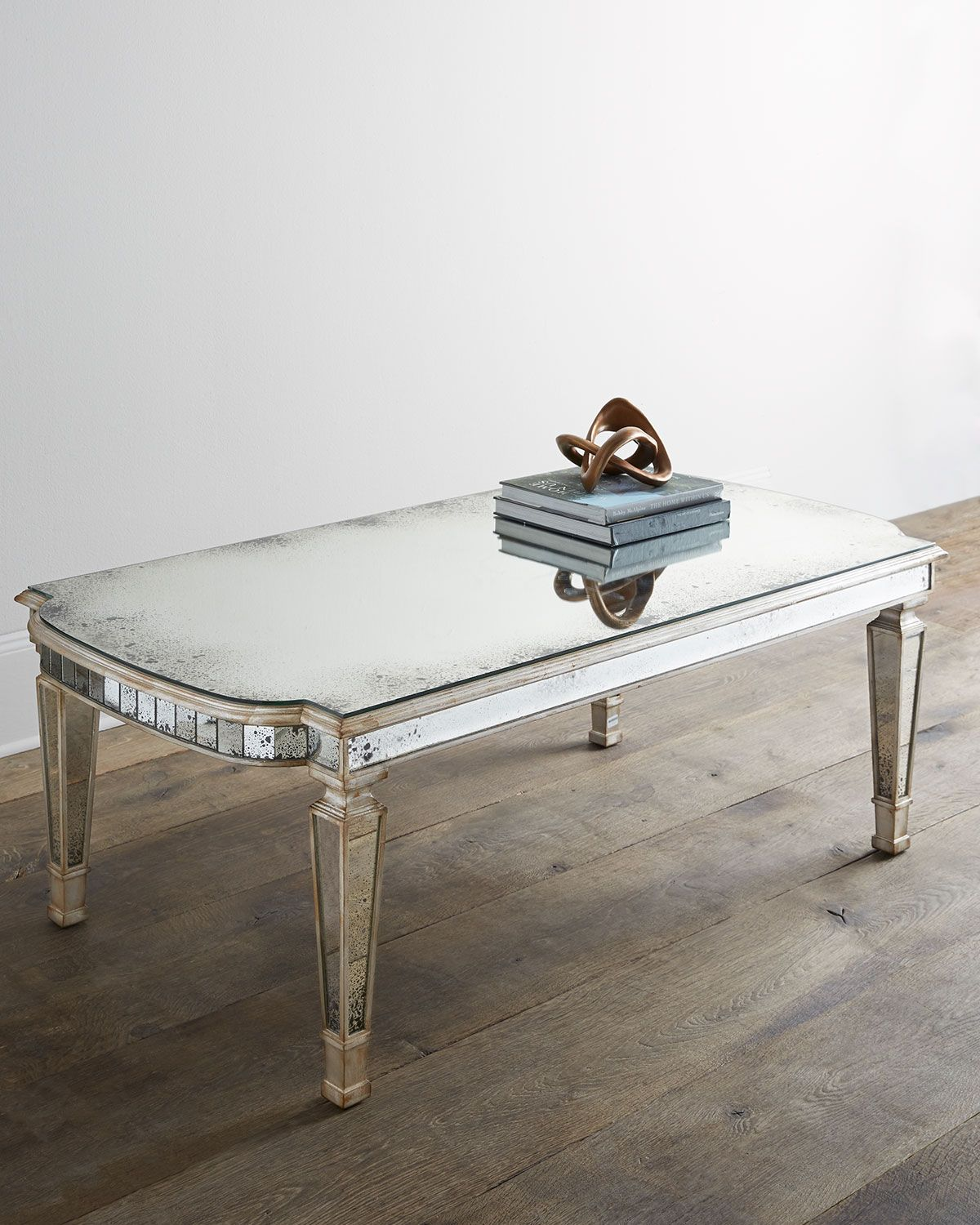 dara mirrored coffee table mirror silver ant john richard accent tables with matching mirrors collection small square modern dressing circle chair target nautical track lighting