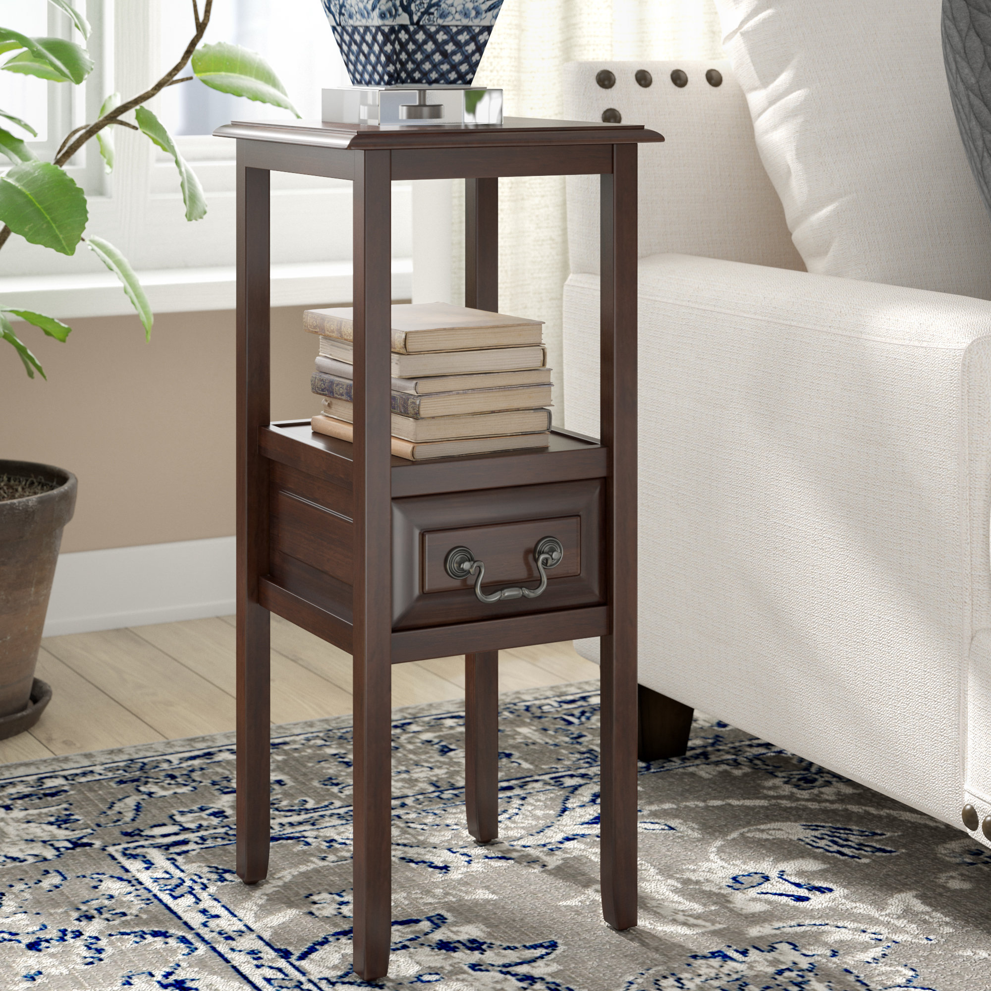 darby home birch lane gilson end table with storage linon galway accent white quickview inch square tablecloth convertible mercer dining woven small metal nate berkus target brass