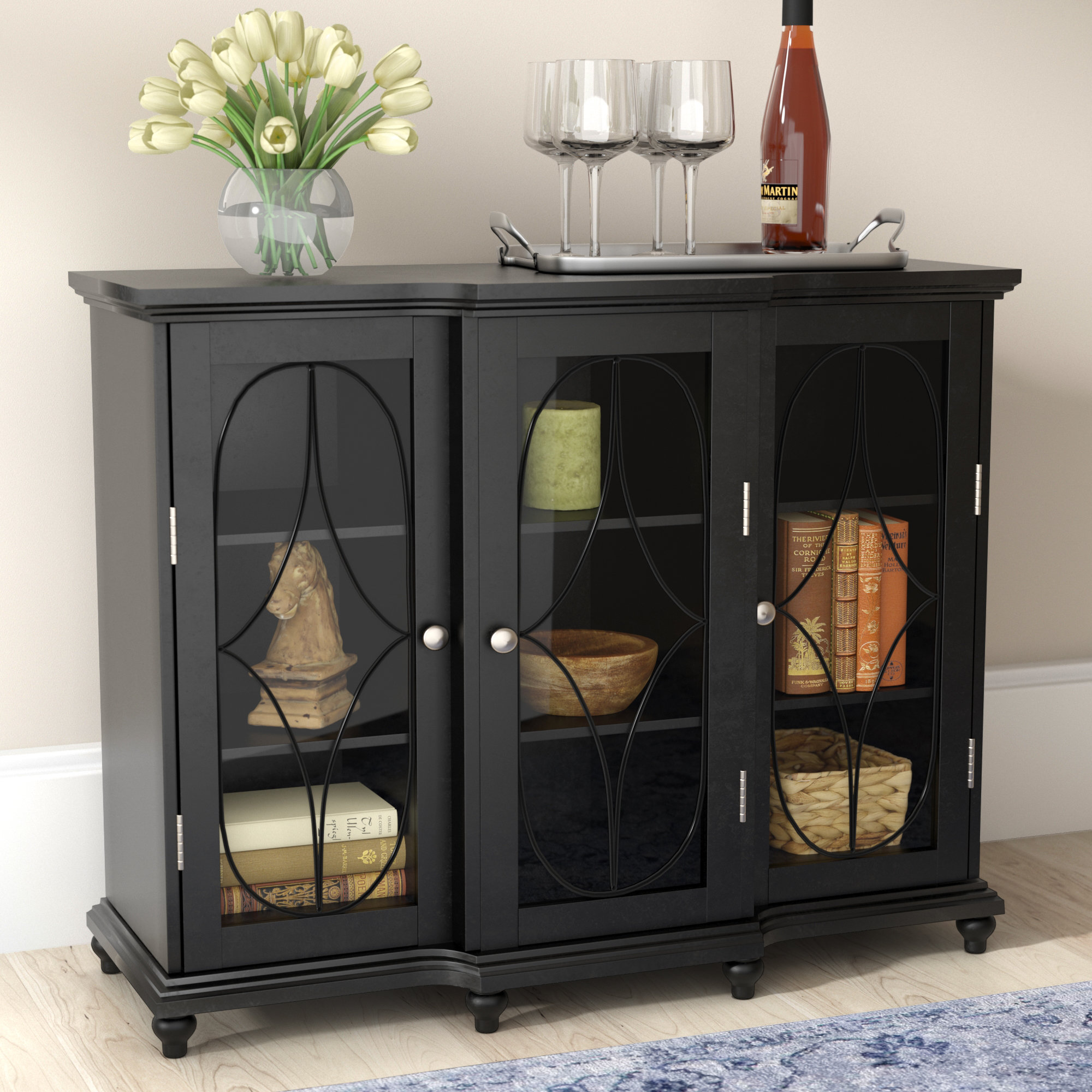 darby home odell doors accent cabinet reviews table with outdoor accents black leather dining room chairs ashley furniture chairside end miniature lamps xmas tablecloths and